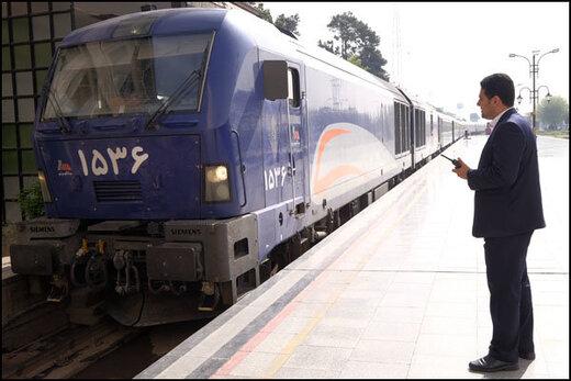 تردد قطار محلی خوزستان - لرستان به علت شیوع کرونا متوقف شد