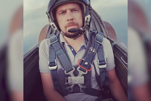 ببینید | کشته شدن مجری تلویزیون روسیه در سقوط هواپیما