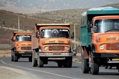 هزینه 18 میلیونی تعویض روغن کامیون / هر جفت لاستیک 12 تا 30 میلیون تومان