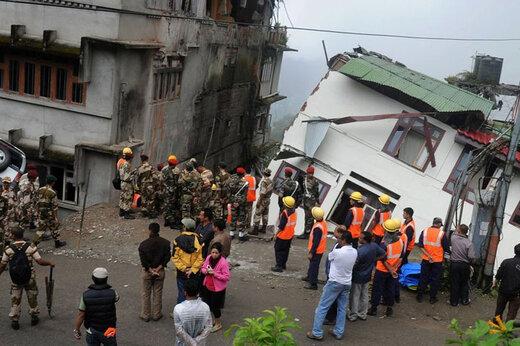 ببینید | تصاویر تازه منتشر شده از زلزله وحشتناک ۷ ریشتری بنگلادش در دوم نوامبر