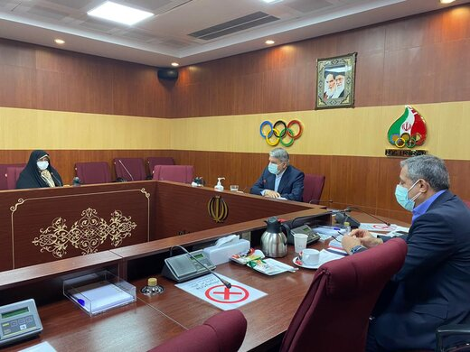 هفتادو دومین نشست هیات اجرایی کمیته ملی المپیک برگزار شد