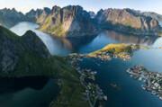 ببینید | جزایر لوفوتن _ نروژ ؛چند ثانیه زیبایی خالص!