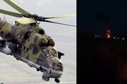 جمهوری آذربایجان مسئولیت سرنگونی بالگرد روسیه را بر عهده گرفت