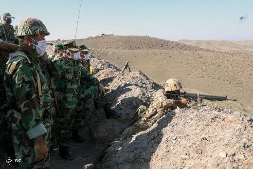 آماده باش ارتش و سپاه در مرزهای شمال غربی کشور +تصاویر