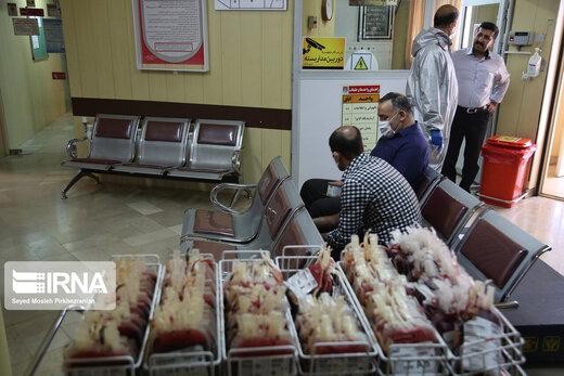 سازمان انتقال خون: مردم خون بدهند، ذخایر کاهش یافته است