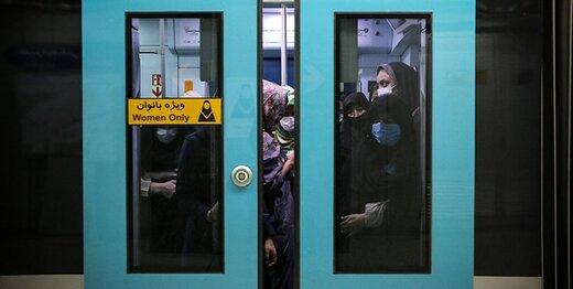 آغاز مسافرگیری از ایستگاه مترو بسیج پس از تعمیر سقف فروریخته