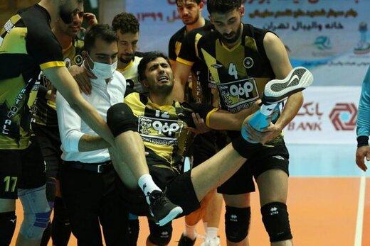 ملی پوش والیبال لیگ ملت ها را از دست داد