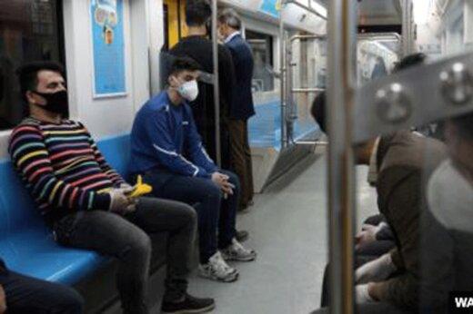 ببینید | فعالیت مترو ساعتی بعد از محدودیتهای جدید کرونایی