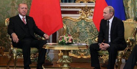 اردوغان و پوتین درباره قره باغ گفتگو کردند