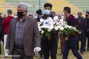 ببینید | خداحافظی با یاورِ قهرمانان؛ تشییع پیکر مرحوم «محمود یاوری»