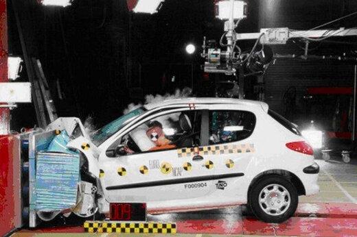 ببینید |  تست تصادف ماشینهای ایرانی