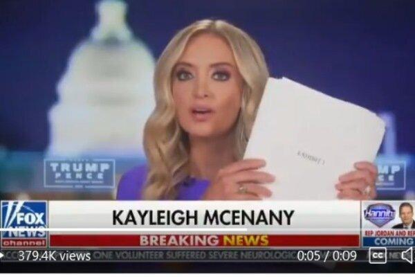 5490541 - مدرک ۲۳۴ صفحهای تقلب ترامپ را در کاخ سفید نگه میدارد؟