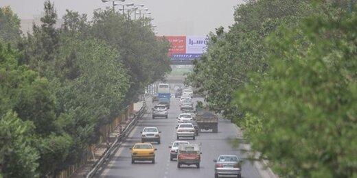 وضعیت آلودگی هوای تهران از ابتدای سال تاکنون؛ ۵۵ روز هوای ناسالم داشتیم