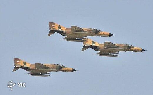 رونمایی از گردان سِرّی نیروی هوایی ارتش +تصاویر