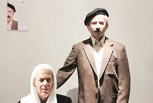 بن بستی در دزاشیب که یادآور خاطرات دو نویسنده ایرانی است