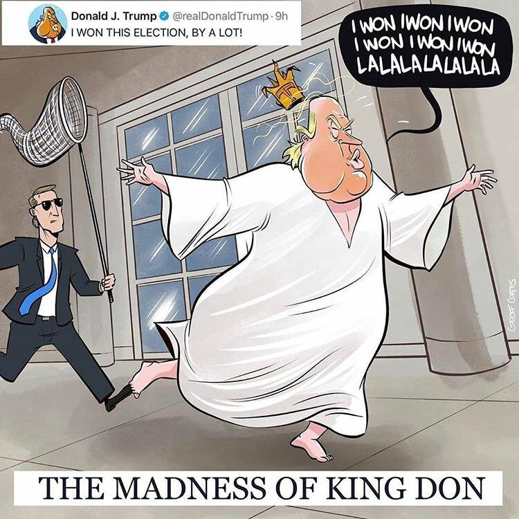 ببینید: به دنبال دیوانهای در کاخ سفید!