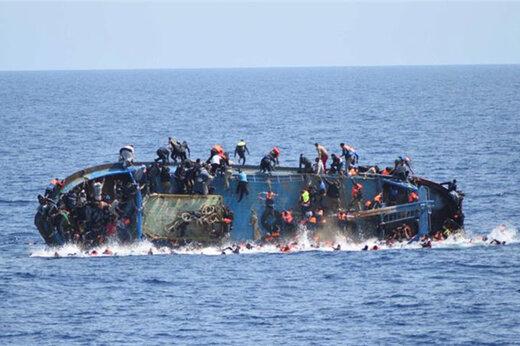 ببینید | باز هم مهاجرت و باز هم داغ غرق شدن قایق مهاجرین