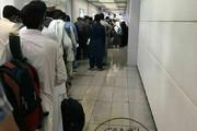 ببینید | ازدحام جمعیت برای تست کرونا در فرودگاه امام(ره) بدون فاصلهگذاری اجتماعی