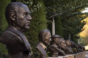 ببینید | انتقاد تند علی نصیریان به ساخت مجسمهاش در خانه هنرمندان