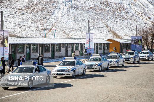 هشدار پلیس نسبت به بارش برف و باران و لغزندگی جادههای برونشهری