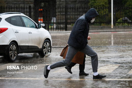وزش باد خیلی شدید تا سرعت ۹۰ کیلومتر/ بارش باران و برف تا پنجشنبه