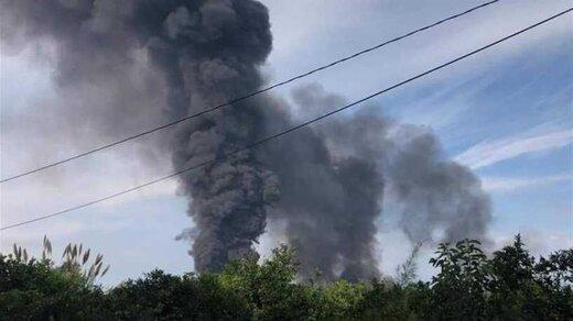 آتشسوزی در خط لوله نفت عراق به لبنان مهار شد