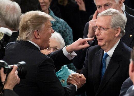 میچ مککانل به ترامپ هشدار داد