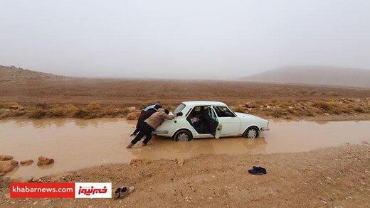 فیلم   وضعیت مردم روستای «اعلاءالدوله سروستان» که دعا میکنند باران نبارد!