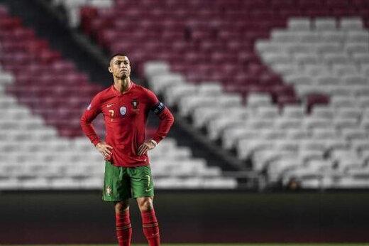 پیام رونالدو به بازیکنان پرتغال؛ سرتان را بالا بگیرید