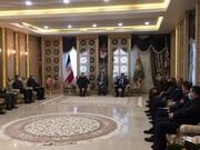 عکسی از دیدار وزیر دفاع عراق با مقام بلندپایه نظامی ایران
