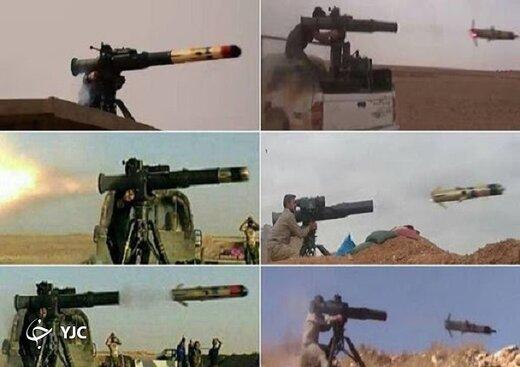 این سلاح مرگبار و پرقدرت سپاه پاسداران آماده صادرات به کشورهای منطقه /قارعه و نافذ؛ دو راکت انداز ضدزره ایرانی +تصاویر