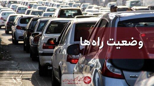 ترافیک روان در جادههای منتهی به شمال/ چند جاده مسدود است