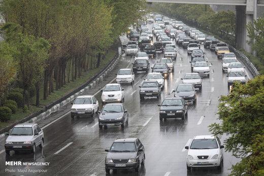 ترافیک سنگین صبحگاهی در تمامی معابر پایتخت