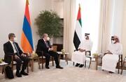 در دیدار رئیس جمهور ارمنستان با بن زاید چه گذشت؟