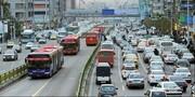 ترافیک در تهران روان است؛ مراقب خیابانهای لغزنده باشید