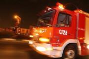 ببینید | پمپ بنزین آتش گرفته پیروزی پس از خاموش شدن آتش