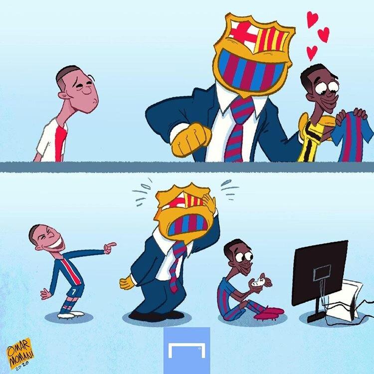 اینم انتخاب بد بارسلونا!