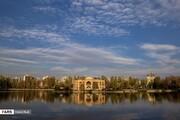 ببینید | زیباییهای پاییز در پارک ائلگلی تبریز