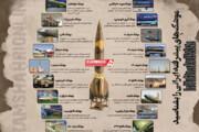اینفوگرافیک | موشکهای پیشرفته ایرانی را بهتر و دقیقتر بشناسید