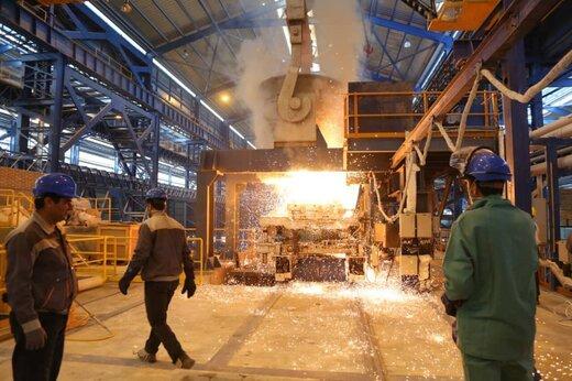 ظرفیت دو میلیون تنی تولید محصولات فولادی در استان سمنان