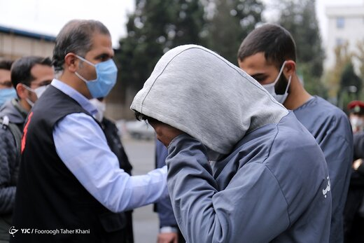 دستگیری زورگیران قمه به دست آزادراه تهران - شمال