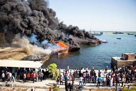 ببینید | بمبهای ساعتی در اسکلههای بوشهر