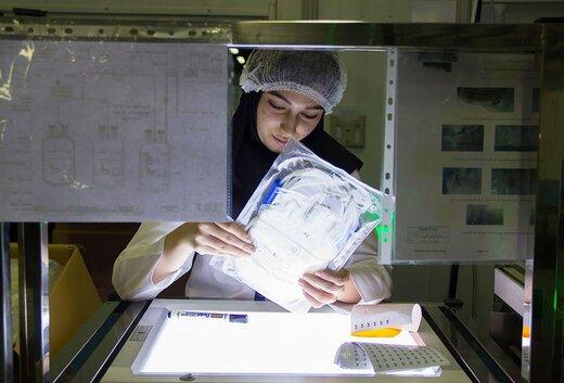 بزرگترین کارخانه کیسه های خونگیری خاورمیانه در یک قدمی تولید انبوه