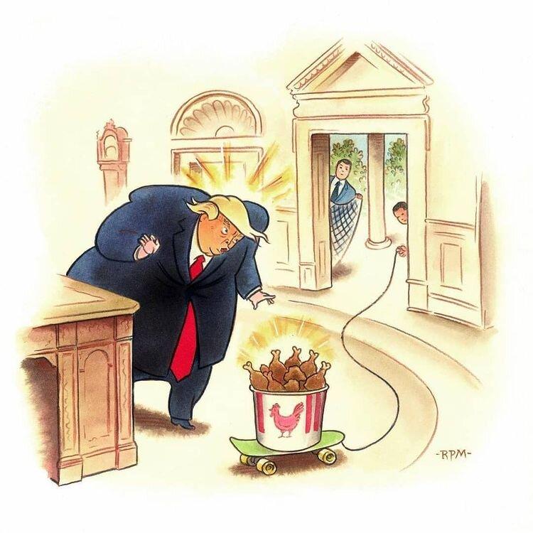 روش بیرون کشیدن ترامپ از کاخ سفید را ببینید!