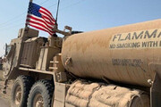 ببینید | غارت نفت سوریه به دست آمریکاییها