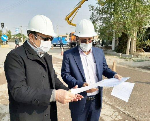 بهینه سازی خطوط و تاسیسات توزیع برق روستای حسین آباد کردها در شهرستان آرادان