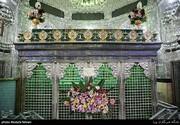 تصاویر   گل آرایی حرم حضرت عبدالعظیم(ع)