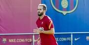 تهدید بازیکن بارسا برای خداحافظی از تیم ملی