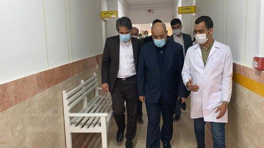 فاز دوم توسعه عمرانی مرکز درمانی خلیج فارس قشم کلید خورد