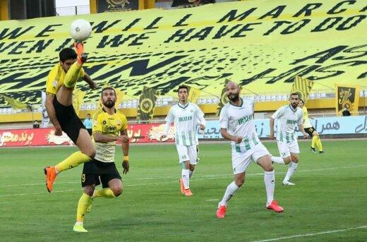 تراکتور در خانه به سپاهان باخت/منصوریان؛ سه بازی دو امتیاز